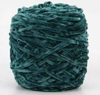 Chenille velvet yarn グリーン