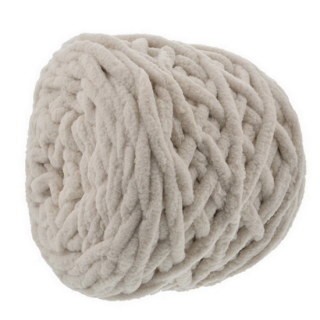 cotton mall yarn ベージュ