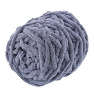 cotton mall yarn グレー