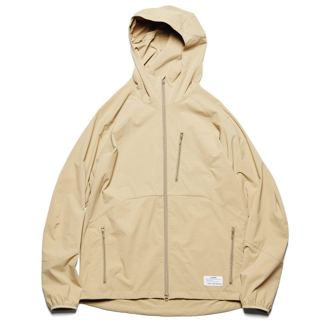 MIL ZIP HOODED BLOUSON