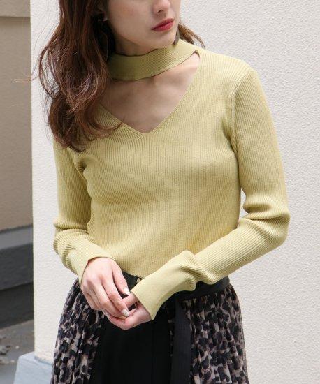 Multi-stripe lib knit