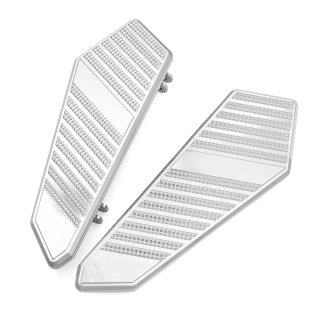 Floor boards | CHROME | 1986~ Touring Softail FL Trike models | CAA01B