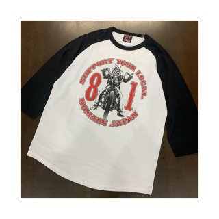 SUPPORT 81 Raglan 3/4sleeve shirts_ZBCR