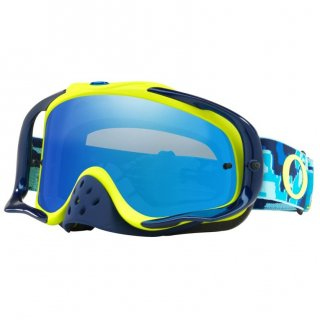OAKLEY CROWBERゴーグル THERMO CAMO/ブルーライム