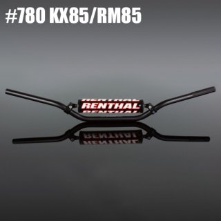 RENTHAL 7/8 ミニハンドルバー KX85 /RM85
