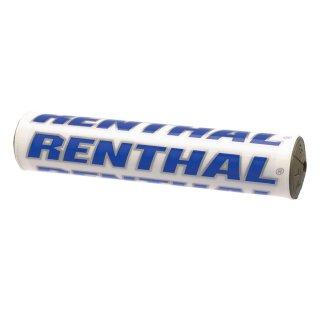 RENTHAL SXバーパッド 10インチ ホワイトブルー