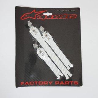 ALPINESTARS TECH10('~18)用ストラップセット ホワイト