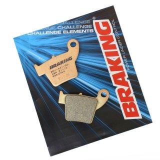 BRAKING ブレーキパッド CM44 リア CRF150R, CR125/250R, CRF250/450R, CRF250/450X, CRF250/450RX, ...他用