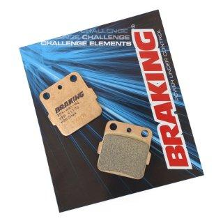 BRAKING ブレーキパッド CM44 フロント DJEBEL200(97-02) 用