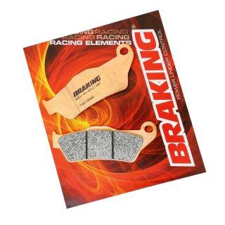 BRAKING ブレーキパッド CM46 フロント EXC/EXC-R 97-20, SX/SXF 03-20 用