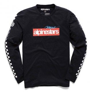 ALPINESTARS  アゲイン プレミアム L/S Tシャツ ブラック