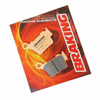 BRAKING ブレーキパッド CM46 リア TE250/300 14-20,  FE250-501 14-20...他用