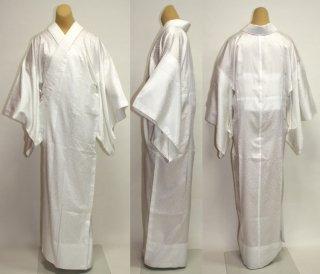 【レンタル】白長襦袢、白の半衿付き(黒留袖・色留袖・訪問着・喪服用)