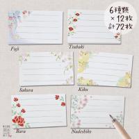 名乃花の和柄名刺サイズのカード 2