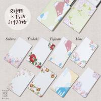 名乃花の和柄ミニミニカード 3