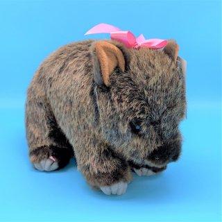 茶臼山動物園ウォンバット モモコぬいぐるみ 【3,500円以上送料無料対象商品】