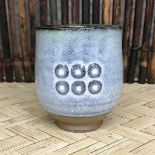 【松代焼】六文銭湯呑 【個別配送商品】