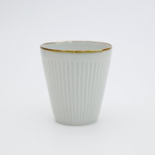 さび李朝 しのぎそりフリーカップ