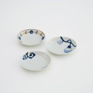 楕円豆皿(3柄)