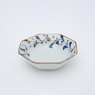 オリーブリーフ リム八角小鉢