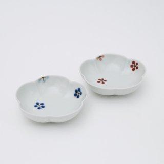 さび小花ちらし 梅小鉢(2色)