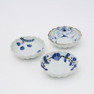 菊小鉢(3柄)
