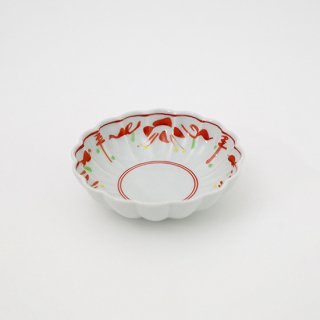赤絵万暦 菊小鉢