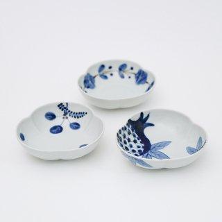 三つ葉小鉢(3柄)