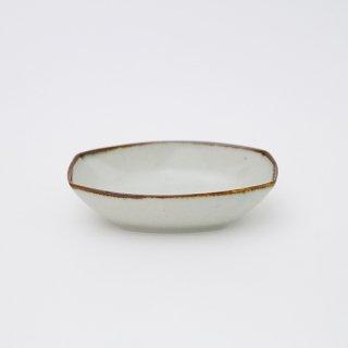 さび李朝 舟形小鉢
