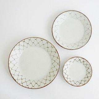 網絵 しのぎ皿(3サイズ)