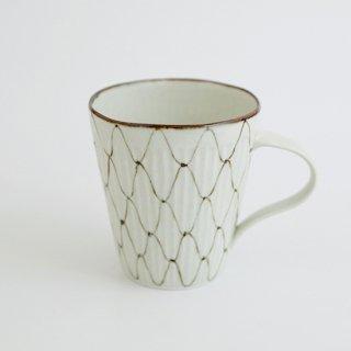 網絵 しのぎマグカップ