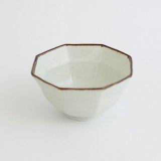 さび李朝 リム八角深小鉢