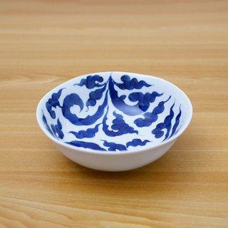 染付草紋四五小鉢