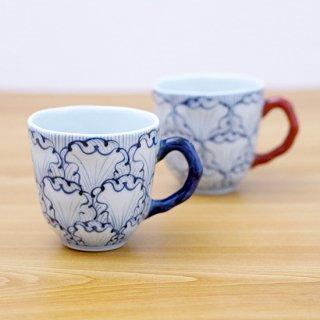 花弁紋マグ(2色)