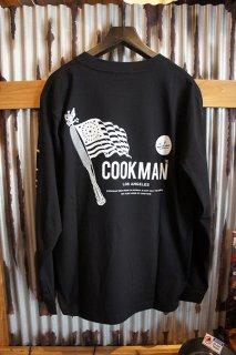Cookman Long sleeve T-shirts (「Flag」)