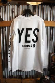 Cookman Long sleeve T-shirts (「YES」)
