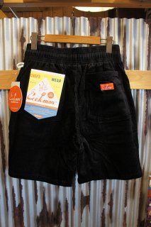 Cookman Chef Short Pants (「Corduroy」 Black)
