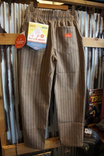 Cookman Chef Pants (「Wool mix Stripe」 Beige)