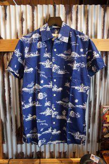 DEUS EX MACHINA Ralph Springs Shirt (BLUE SPRINGS)