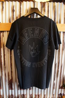 AFENDS Hollow Yub Standard Fit Tee (Black)