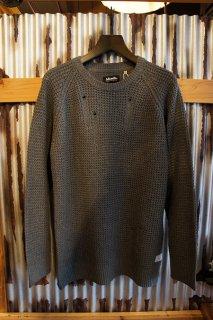 AFENDS ZarII Raglan Knit (Grey Marle)
