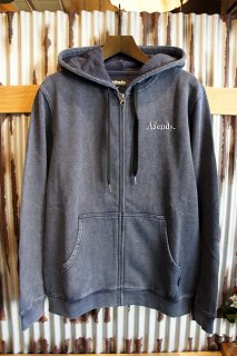 AFENDS Nylon Zip Hood (Indigo Acid)