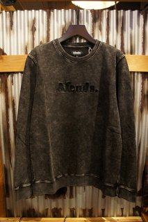 AFENDS AFENDS DOT CREW NECK (BLACK ACID)