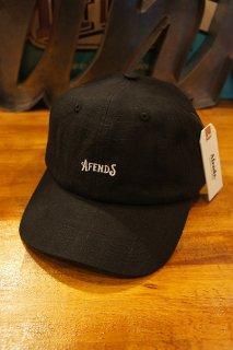 AFENDS Candy HEMP SOFT BRIM 6 PANEL CAP (BLACK)