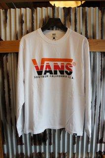VANS BMX Rainbow Print L/S Tee (WHITE)