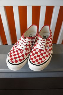 VANS Authentic 44 DX (ANAHEIM FACTORY) OG RED