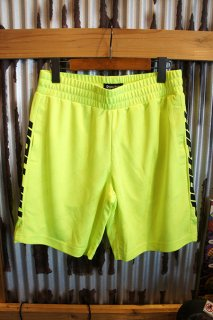 RIPNDIP MBN Stripe Soccer Shorts (Neon)