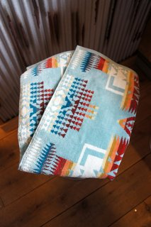 PENDLETON Iconic Jacquard Towels Hand XB219 (Chief Joseph Aqua)