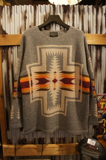 PENDLETON PULLOVER KNIT (Gray)