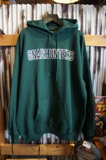 Gnarhunters College Outline Hoodie (GREEN)
